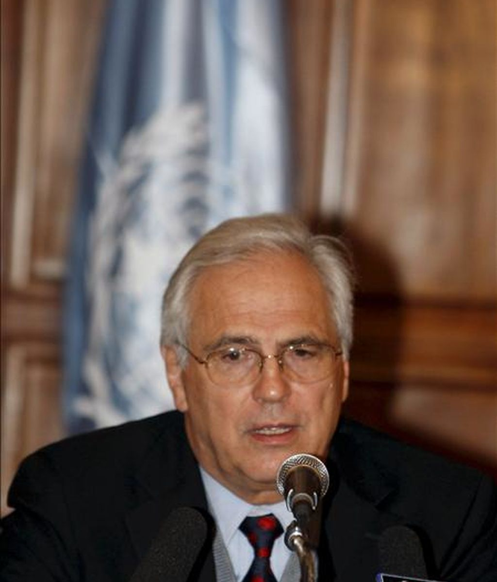 El emisario especial de la ONU para el Sahara Occidental, Christopher Ross. EFE/Archivo