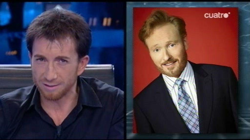 Pablo Motos contesta a Jesse Eisenberg y reta a Conan O'Brien