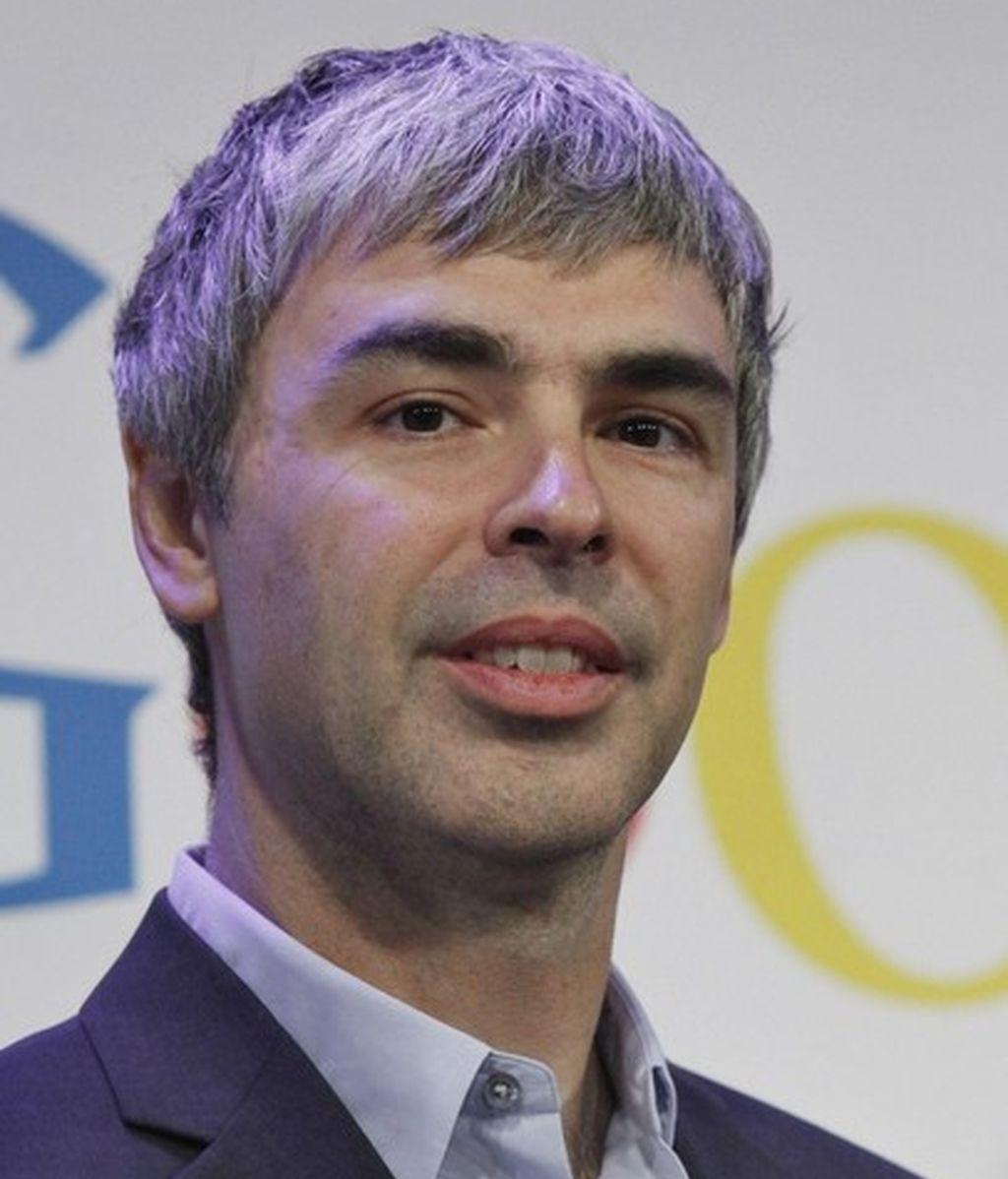 Larry Page, CEO de Google en una imagen de mayo de 2012