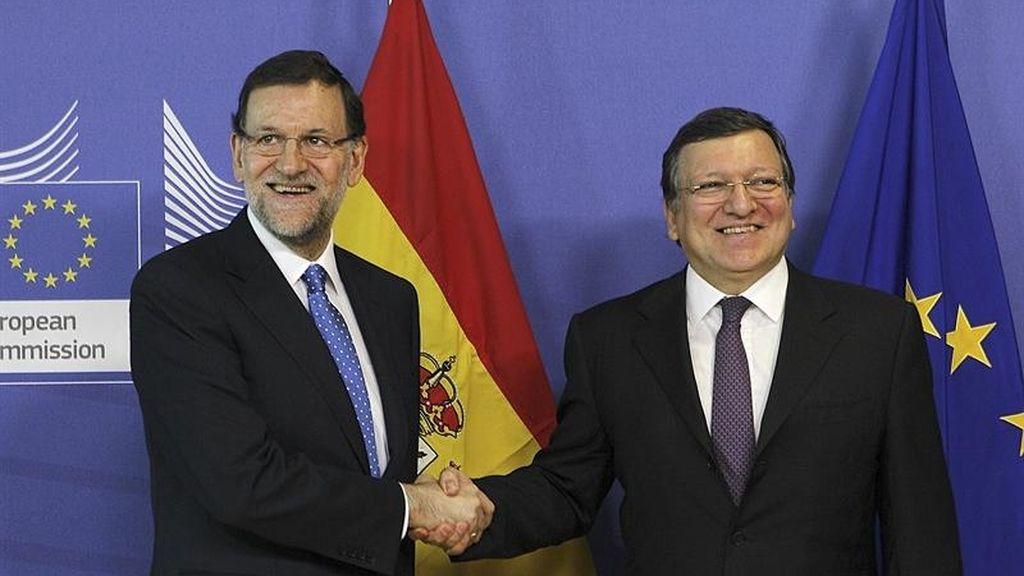 Rajoy y Barroso se reúnen en Bruselas