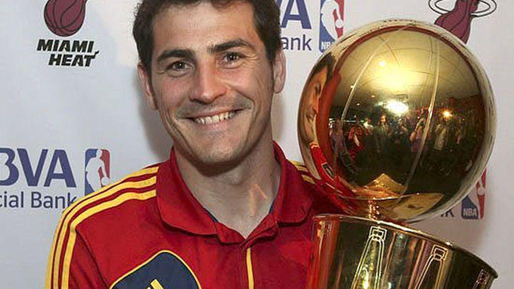 Casillas, con el título de la NBA