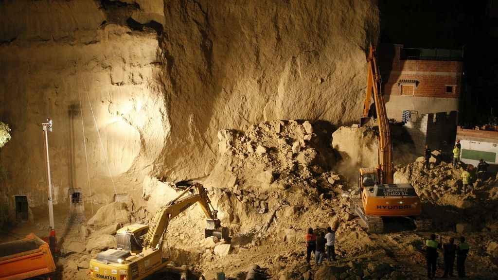 Desprendimiento en Cuevas del Almanzora