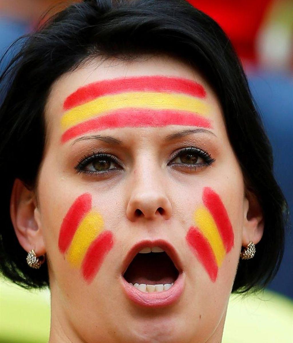 El desafío de España se juega en la grada