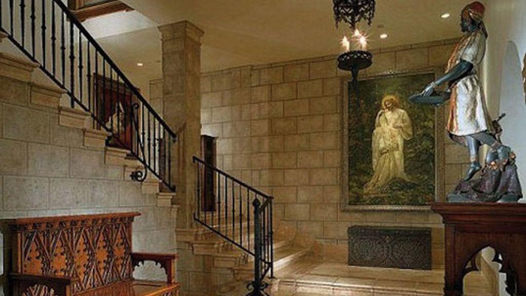 El arte inunda todos los rincones de la casa