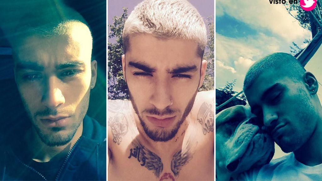 Zyan Malik dejó 'One Direction' y el tupé se esfumó