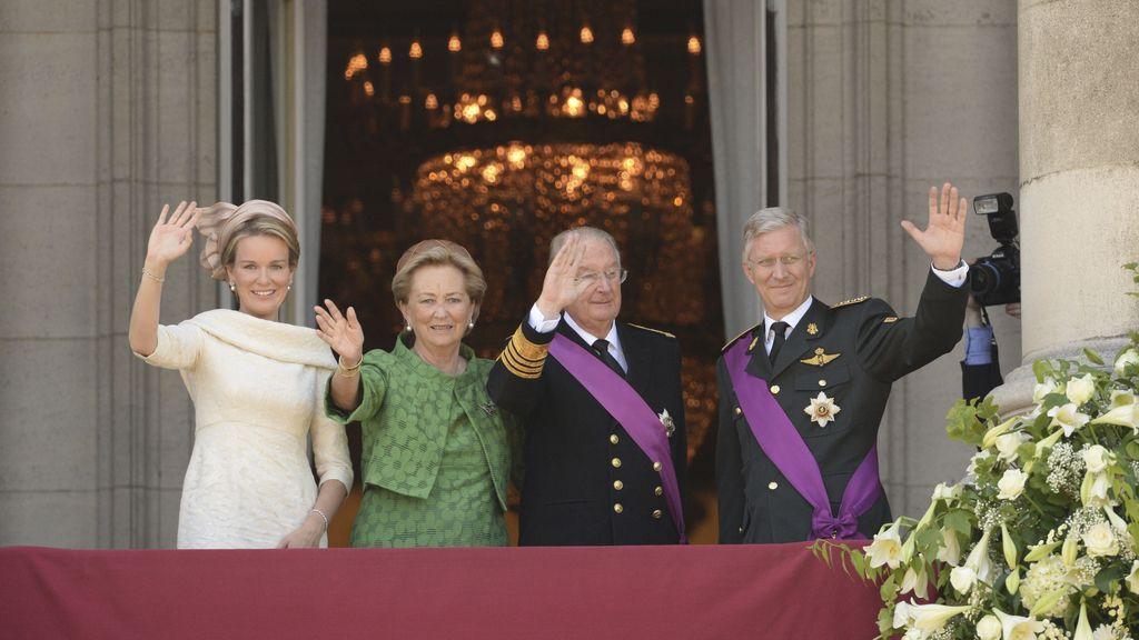 Felipe y Matilde de Bélgica, nuevos reyes de Bélgica