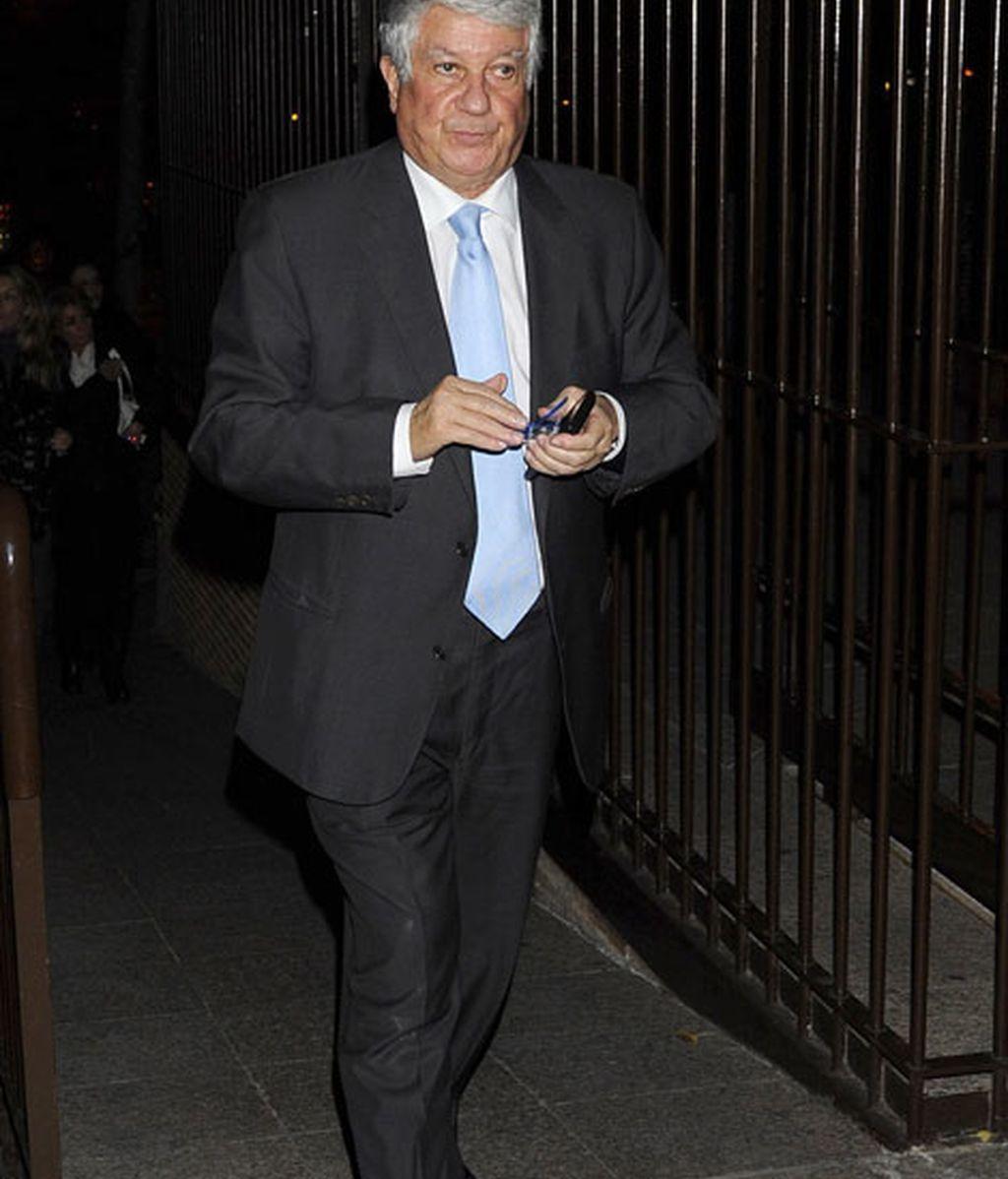 El empresario Arturo Fernández