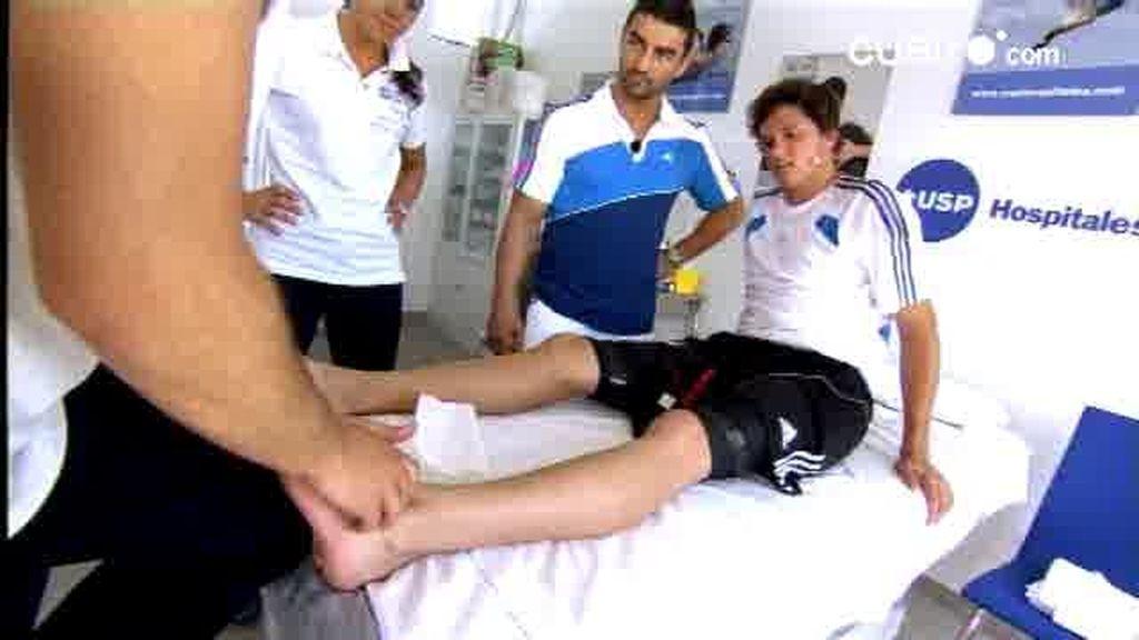 William se lesiona durante un entrenamiento