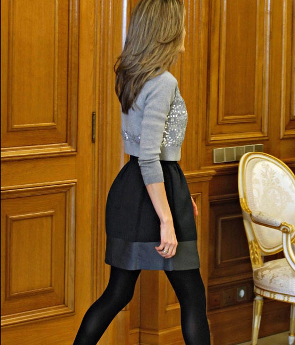 Los vestidos más cortos de Letizia