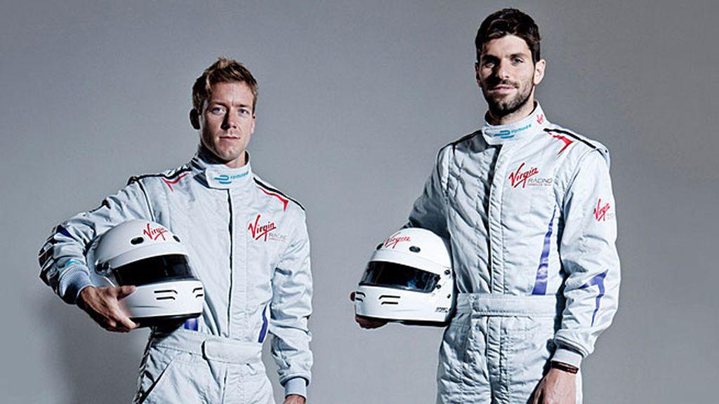 Virgin Racing: Sam Bird y Jaime Alguersuari