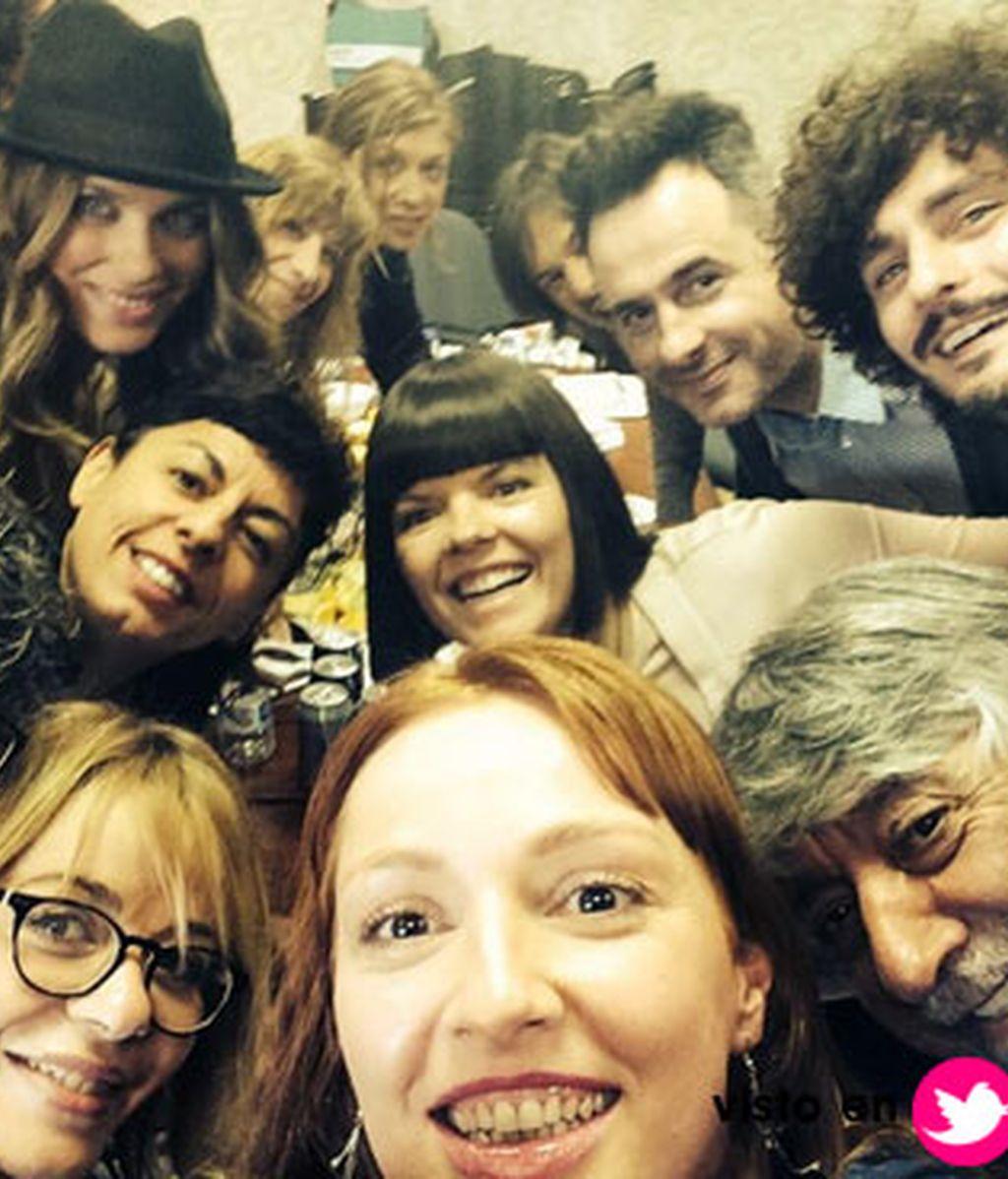 Los vecinos de Monte Pinar tienen su 'selfie'