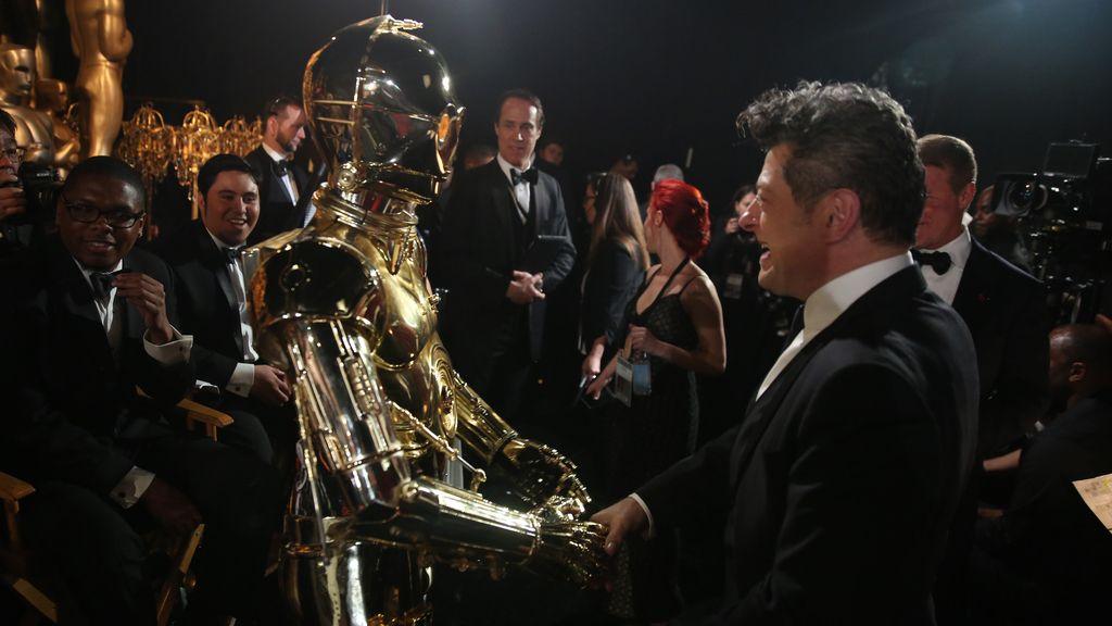 La audiencia alucinó con la aparición del droide de Star Wars 'C-3PEO'