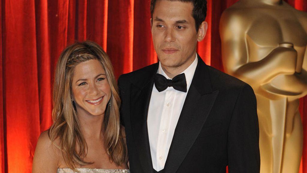 Jennifer Aniston y John Mayer, 9 años de diferencia