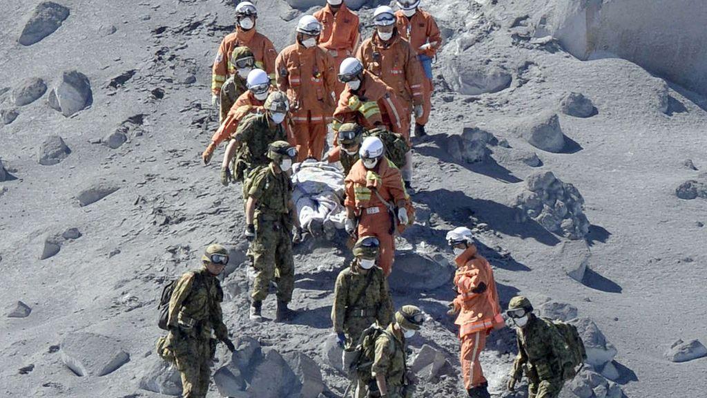 Tragedia en Japón: erupción de Ontake