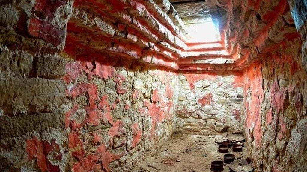 Tumba de uno de los primeros gobernantes mayas