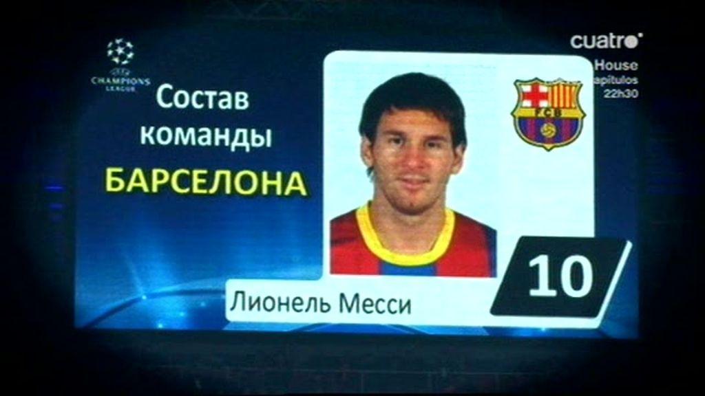 Leo Messi, pichichi europeo