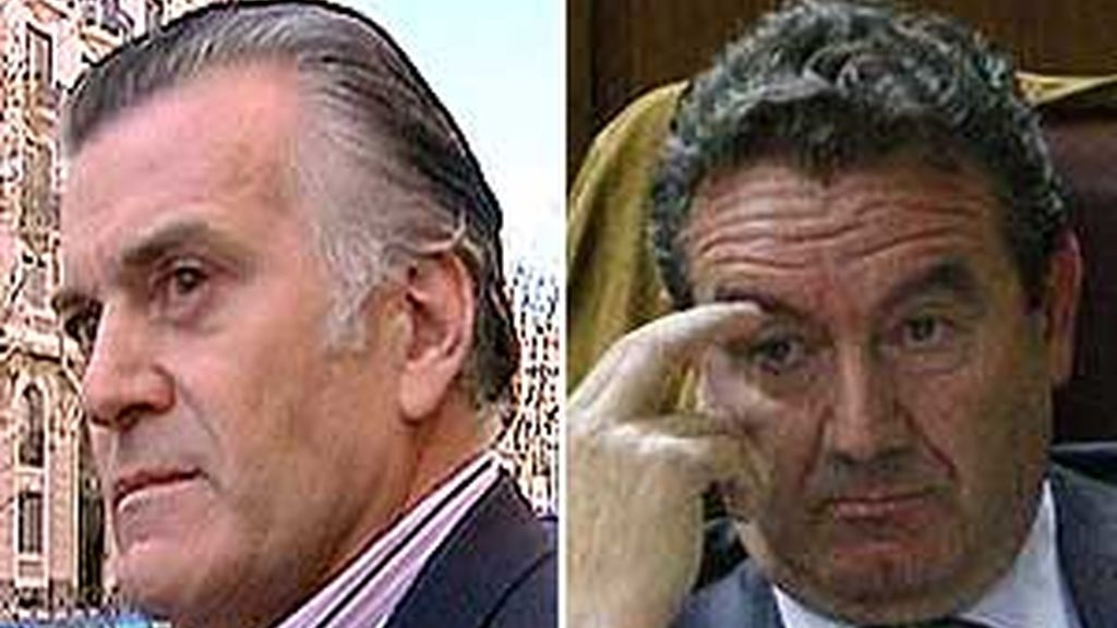Luis Bárcenas y Jesús Merino se han dado de baja del PP manteniendo su inocencia respecto a la trama Gürtel. Foto: Informativos Telecinco / Archivo