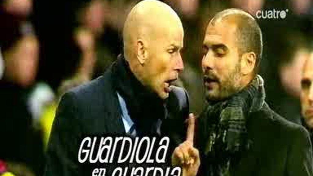 La bronca de Guardiola y Solbakken tras el partido