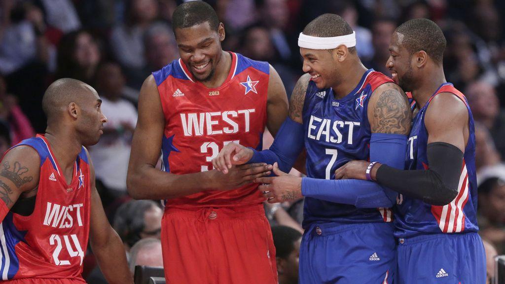 Tercer año consecutivo que el Oeste se lleva el All-Star
