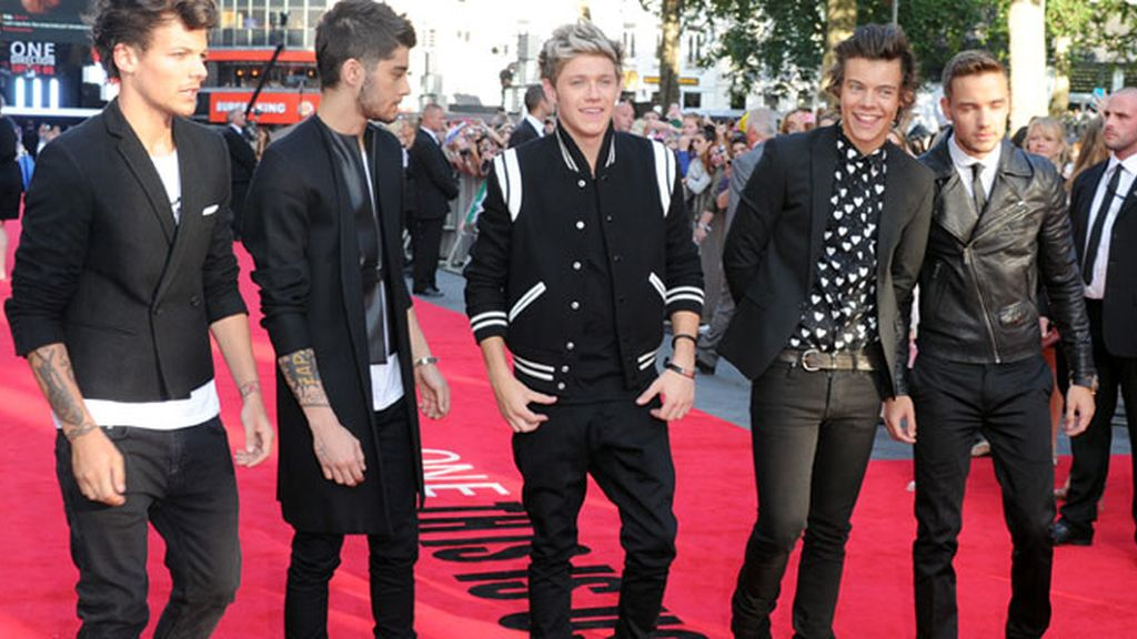 "One Direction en el estreno de ""This is Us"""