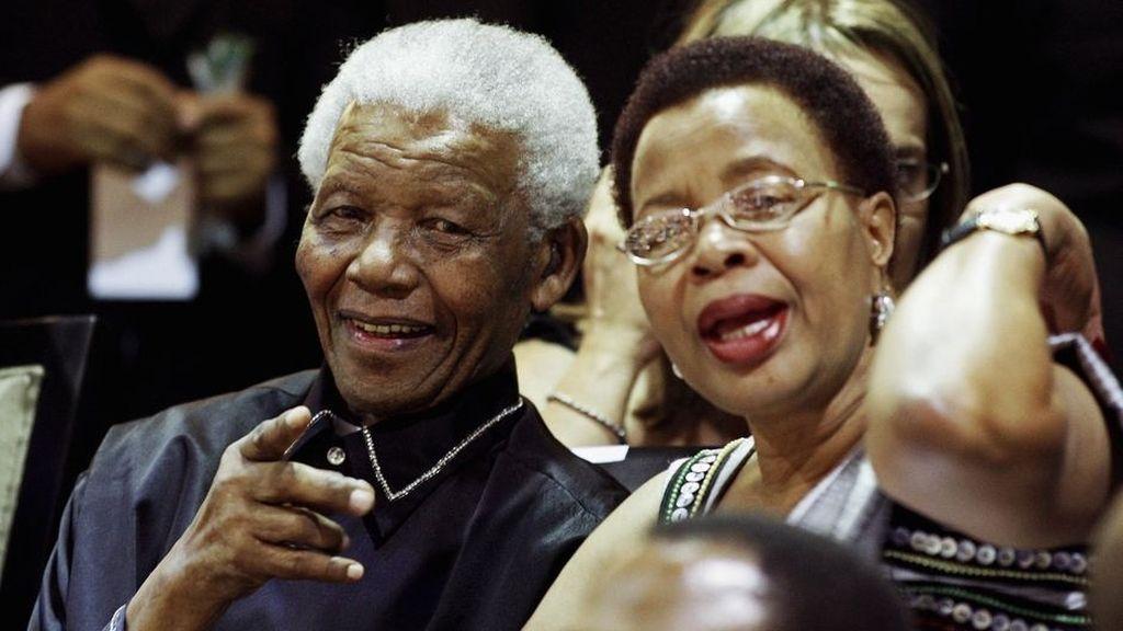 Nelson Mandela, Graca Mandela