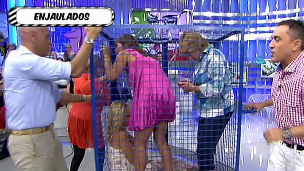 Chelo, Gema y Rosa, castigadas