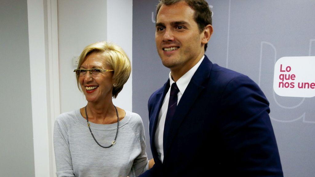 UPYD y C'S estudian posibles pactos como alternativa al bibaprtidismo PP - PSOE