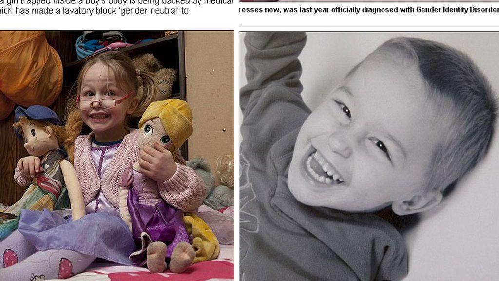 Zach Avery es una niña atrapada en un cuerpo de niño