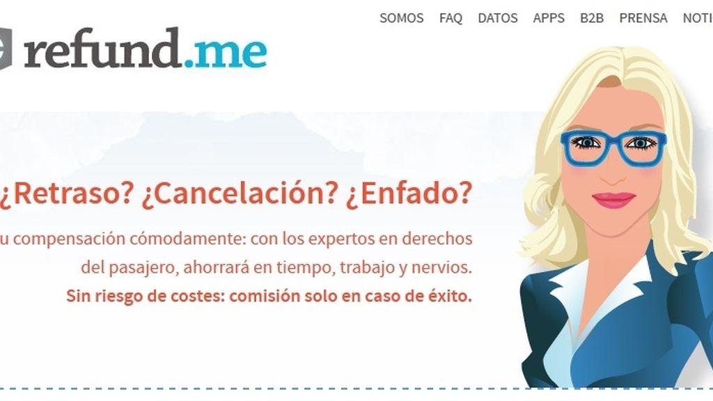 Llega a España refund.me, plataforma online para reclamaciones aéreas