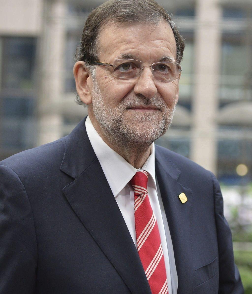 Rajoy a su llegada a la reunión de jefes de Estado y de Gobierno de la UE