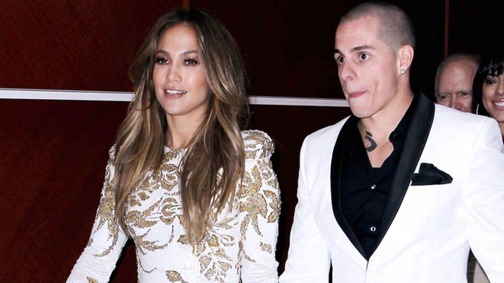 Jennifer Lopez y Casper Smart, 18 años de diferencia