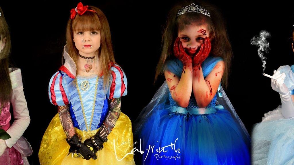 Princesas disney siniestras