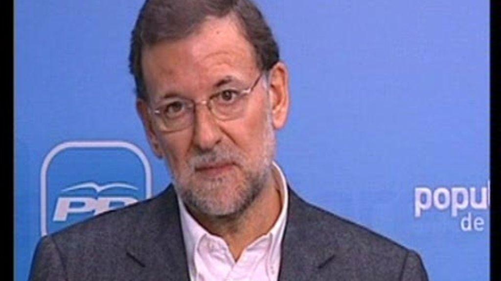 Rajoy insiste en su duda