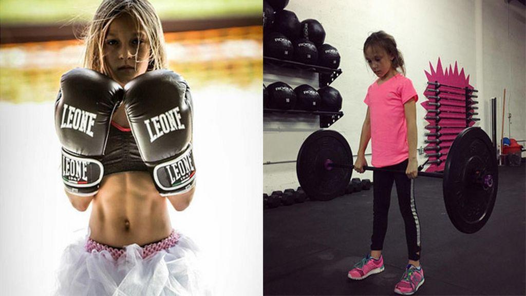 Milla Star, una pequeña gran deportista