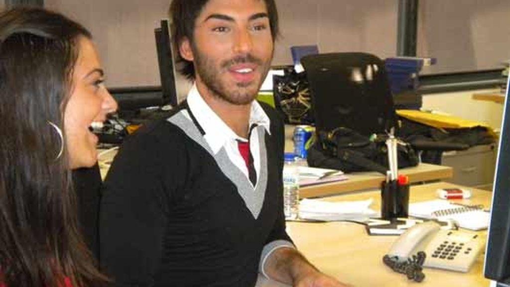 Elias de 'OT' en Telecinco.es