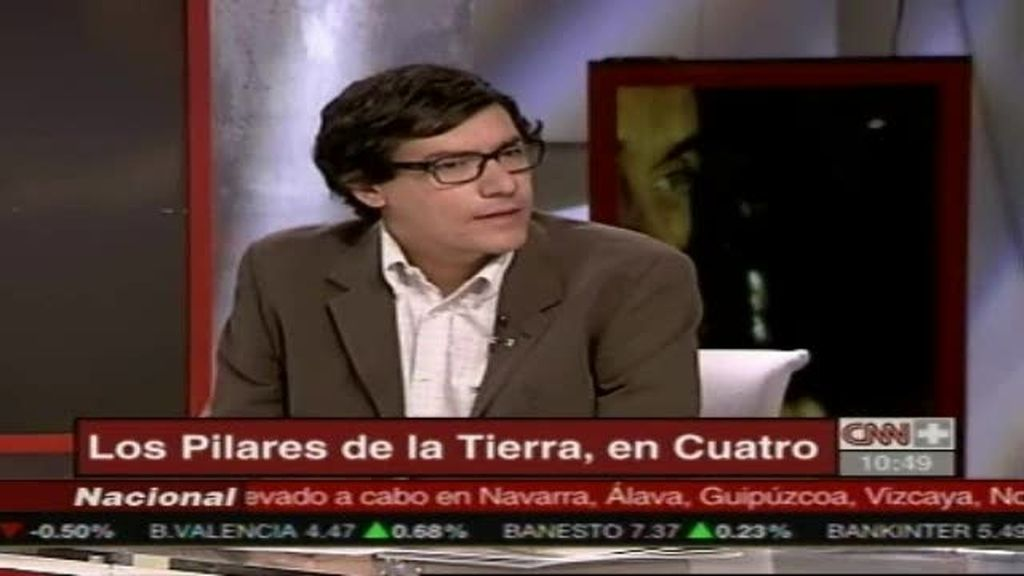 """Alejandro Flórez habla sobre """"Los pilares de la Tierra"""" (1 de 2)"""