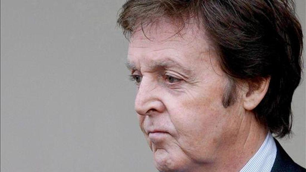 El ex Beatle Sir Paul MacCartney. EFE/Archivo