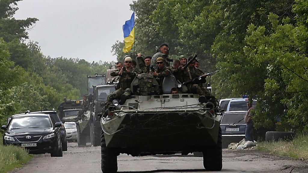 Trece soldados ucranianos mueren en combates con rebeldes