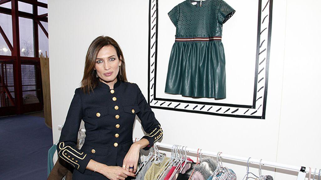 Nieves Álvarez nos mostró sus prendas favoritas entre las que ha diseñado con Villalobos