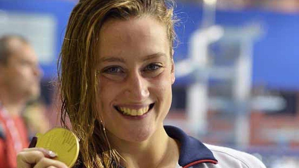 Mireia Belmonte brilla con tres oros y una plata en Doha