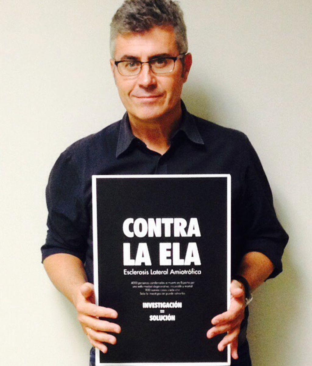 Este sábado se ha convocado en Madrid una 'Caminata por la vida y contra la ELA'