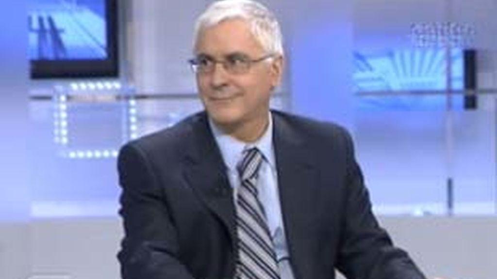 José María Barreda, presidente de Castilla La Mancha, en Informativos Telecinco