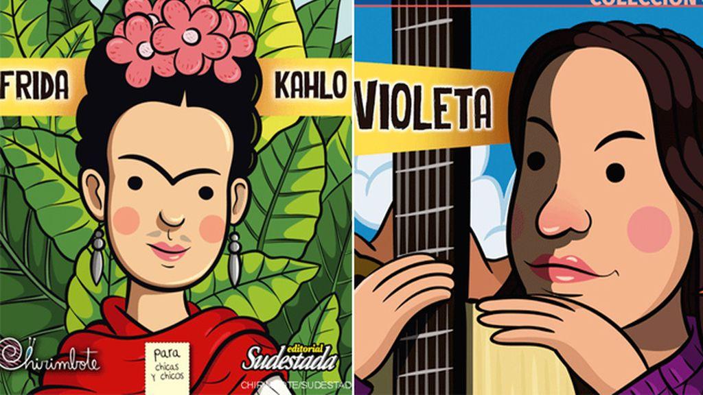 Frida Kahlo y Violeta Parra