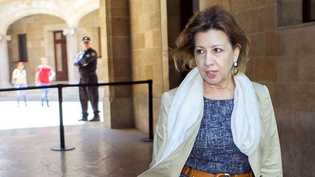 """La Fiscalía pedirá medidas cautelares contra Munar por """"maniobrar para preparar su fuga"""""""