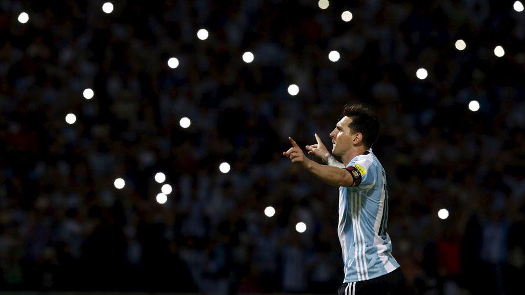Flashes para el gol 50 de Messi con la albiceleste (30/03/2016)