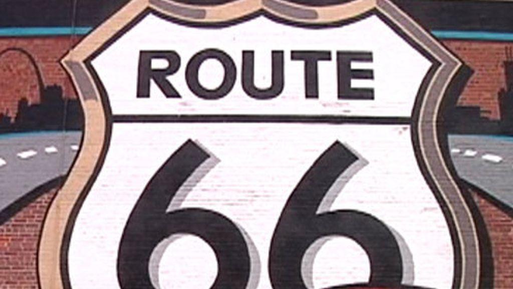 Mural de ruta 66