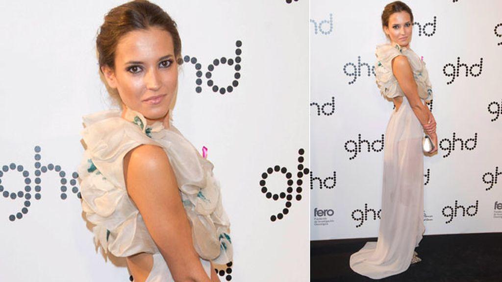 La fundación de la ex modelo Sandra Ibarra amadrinó el acto