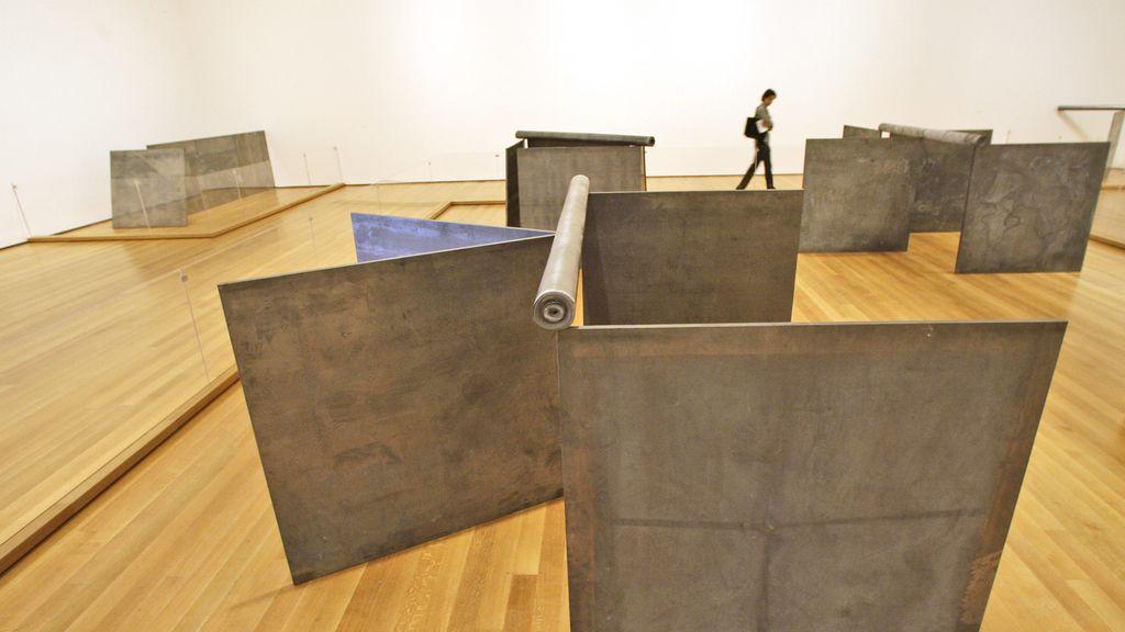 Obra del artista estadounidense Richard Serra