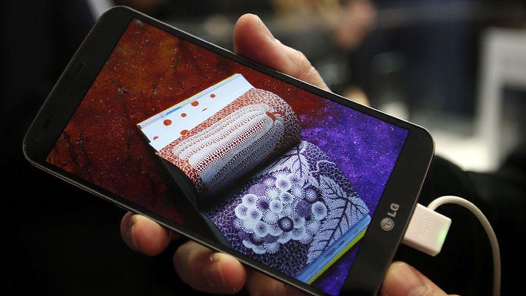 LG Flex,el teléfono con pantalla curva llega al Mobile World Congress