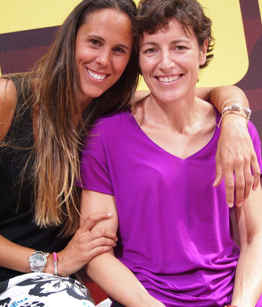 Amaya Valdemoro y Elisa Aguilar, campeonas de Europa de basket femenino
